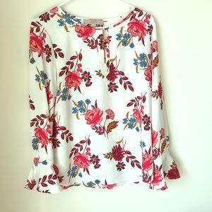 Loft floral blouse 👚 🌸